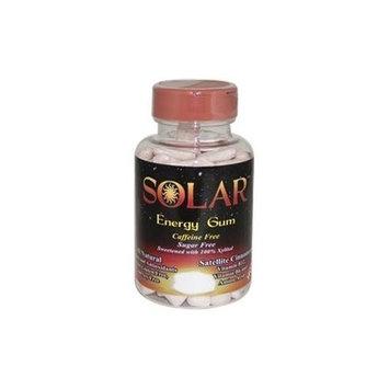 B-Fresh Inc., Solar, Xylitol Energy Gum, Satellite Cinnamon, 100 Pieces ( Multi-Pack)