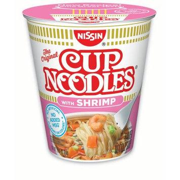 Nissin Cup Noodles, Shrimp, 2.25 Oz, 12 Ct