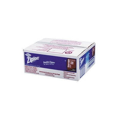 Ziploc Food Packaging Materials and Labels Commercial Foodservice Storage Bags, 1 gal, 1.75 Mil, 10-9/16 in. x 10-3/4 in, Write-On Panel, 250 Per Case DRK 94602