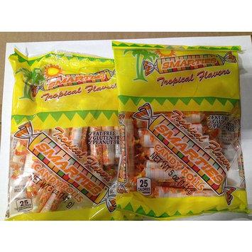 Smarties Tropical Flavors 5.0 oz Bag - 2 Bags