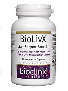 Bioclinic Naturals - BioLivX - 90 Vegetarian Capsules