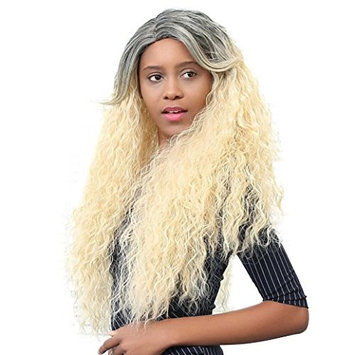 OVERMAL Shaggy Afro Long Deep Curly Heat Resistant Synthetic Hair Wigs For Black Women