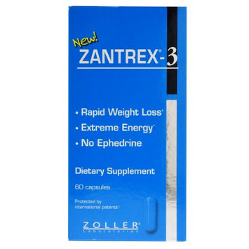 Basic Research Zantrex- 3 Weight Loss and Energy Capsules - 60 Count