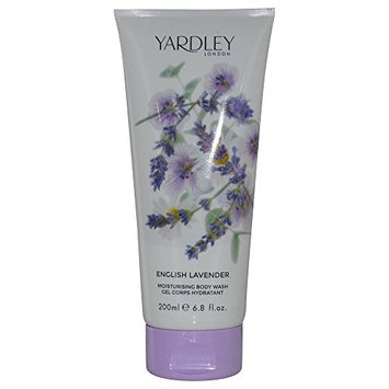 YARDLEY by Yardley ENGLISH LAVENDER BODY WASH 6.8 OZ (NEW PACKAGING) for WOMEN -(Package Of 5)