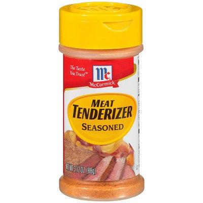 McCormick Meat Tenderizer Seasoned, 3.12 OZ