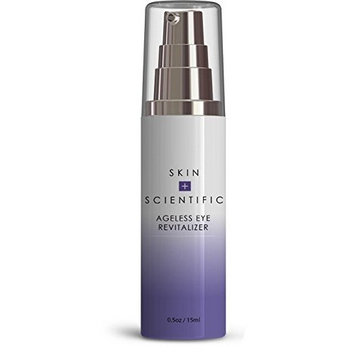 Skin + Scientific Ageless Eye Revitalizer-Advanced Under Eye Repair Serum -Minimize Fine Lines and Wrinkles -Fight Signs of Aging