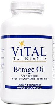 Vital Nutrient's Vital Nutrients Borage Oil 1000mg 180 caps