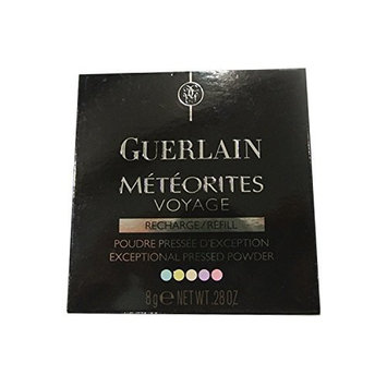 Guerlain Meteorites Voyage Exceptional Pressed Powder Refill, No. 01 Mythic, 0.28 Ounce