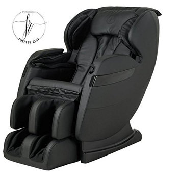 FOREVER REST FR-5Ks PREMIER BACK SAVER, SHIATSU, ZERO GRAVITY MASSAGE CHAIR WITH FOOT ROLLING AND BUILT IN HEAT, STRETCH MODE (black)