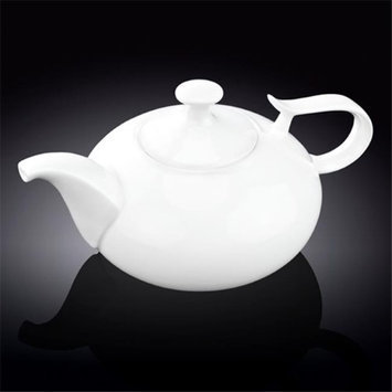 Wilmax 994044 1400 ml Tea Pot White - Pack of 18