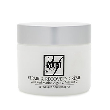 Repair & Recovery Crème w/ Red Algae & Vitamin C - 2 oz – Antiaging System Moisturizer for Dry Skin – YOFI Natural Skin Care – Beauty Products for Men & Women