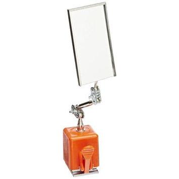 Ullman MX Magnetic Base Rectangular Inspection Mirror, 3-1/2