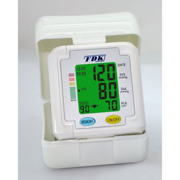FDK FT-B11 W-V BP Monitor Wrist Cuff With 3 Color Backlight And 90 Memory With 1 Bank