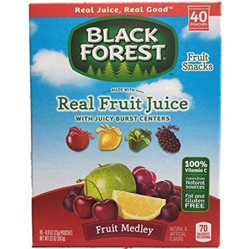 Black Forest Fruit Medley Fruit Snacks - 40 - 0.8 Oz Pouches