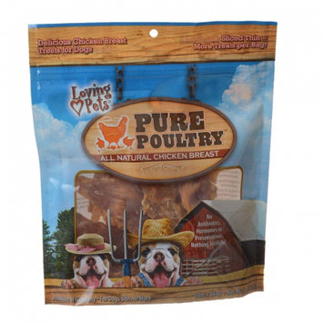 Loving Pets Pure Poultry Chicken Breast Jerky Treats 5oz