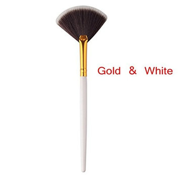 Engdash Professional Makeup Brush Single Fan-shaped Makeup Brush Soft Makeup Brush Foundation Powder Brush
