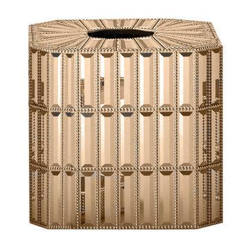 NU Steel Glitz Boutique Tissue Box Cover