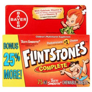 Bayer Flintstones Complete Multivitamin Supplement Tablets for Children - 60 Count
