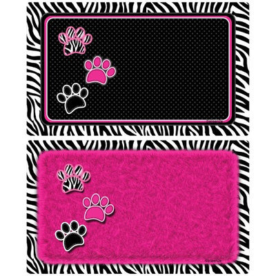 Drymate Black and Pink Pet Place Mat