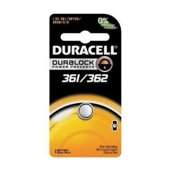 DURACELL D361/362BPK Button Cell Battery,361/362,Silver Oxide