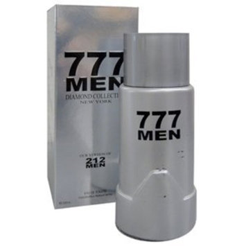 777 Men 3.4 Oz Impression of 212 Men By Carolina Herrera for Men
