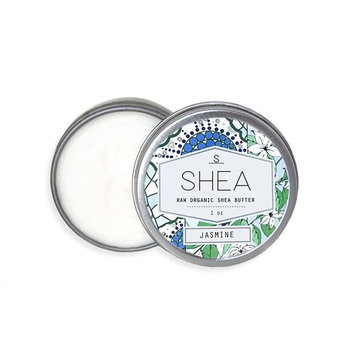 Shea Brand | Raw Organic Shea Butter | Small Batch Daily Moisturizer | Protects Dry, Dehydrated & Sensitive Skin, Hair & Lips | Helps Heal Eczema, Scars & Burns (Jasmine, 1)