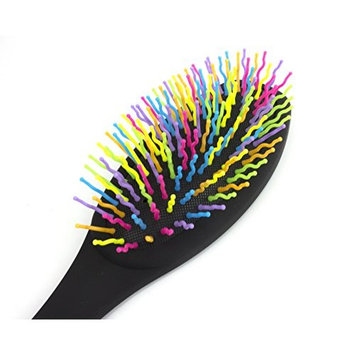 Beautyfrizz Vivid Hair Brush | Detangling Hairbrush with Hard Zig Zag Bristles to Take Brushing to New Heights