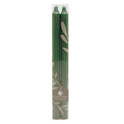 Northern Lights Candles 2 Piece Premium Taper Candle, 12