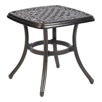 Living Accents Carlisle 20in Square Side Table
