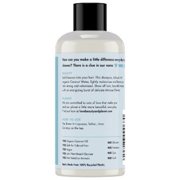 Love Beauty And Planet Coconut Water & Mimosa Flower Volume And Bounty Shampoo - 3 fl oz
