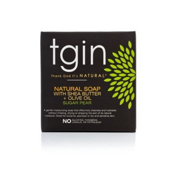 TGIN Natural Soap With Shea Butter And Olive Oil Sugar Pear Soap - 4oz