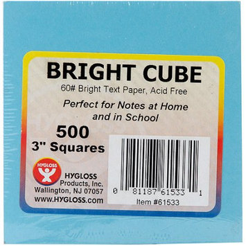 Hygloss Products Inc. HYG61533 Bright Cube Note Pad