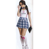 I Love Nerds Adult Halloween Costume