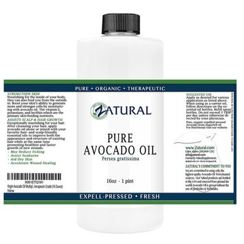 Virgin Avocado Oil Multiple Sizes Available-100% Unrefined Pure, Clean, Naked Avocado Oil- 0 Additives- Certified Food & Therapeutic Grade