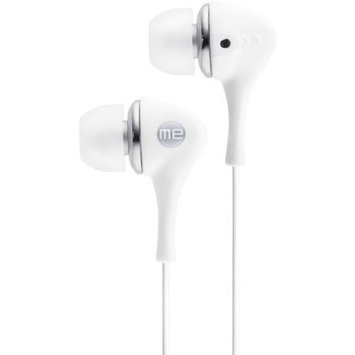 Jensen JHB521 Headshox Earphone - Wired Connectivity - Stereo - Earbud - White