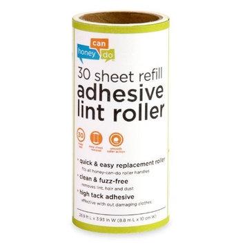 Honey-Can-Do LNT-01590 30-Sheet Lint Roller Refill
