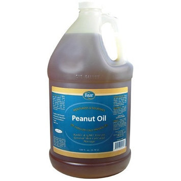 Baar Expeller, Cold Pressed Peanut Oil from Roasted Peanuts Grown in the United States - Kosher - GMO and Solvent Free