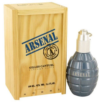 ARSENAL BLUE by Gilles Cantuel Eau De Parfum Spray 3.4 oz