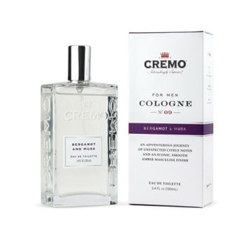 Cremo Spray Cologne Bergamot & Musk - 3.4oz
