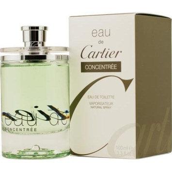 CARTIER Eau De Cartier Edt Concentrate Spray For Frgldy 3.3 OZ