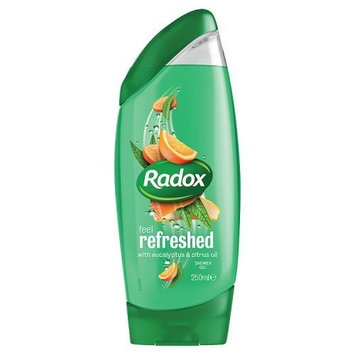 Radox Feel Refreshed with Eucalyptus and Citrus Oil Shower Gel 250 ml - Pack of 6 by Radox