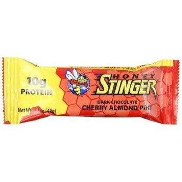 Honey Stinger Protein Bar, Dark Chocolate Cherry Almond, 1.5 Ounce (Pack of 15)
