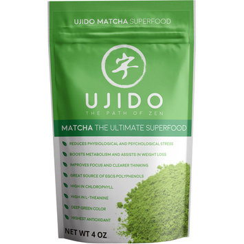 Ujido Matcha Green Tea Powder, 4 Fl Oz, 1 Count