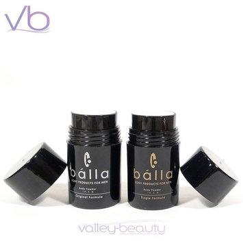 Bálla for Men Body Powder - Tingle Formula ~ Travel Size, 10.3g