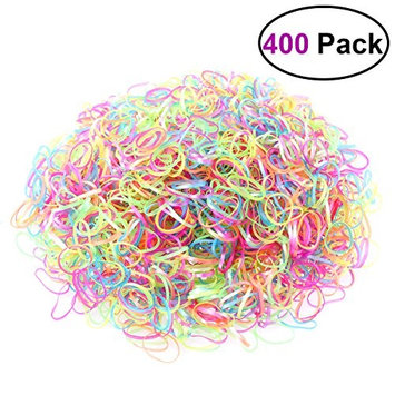 YeahiBaby YEAHIBABY Disposable Elastic Bands Colorful Hair Rubber Bands for Kids, 2000pcs