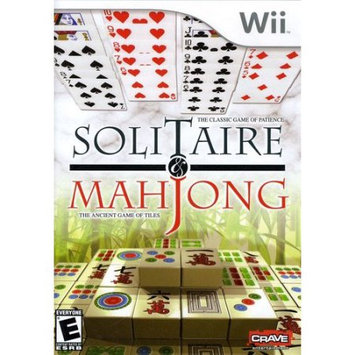 Crave Entertainment Solitaire & MahJong for Nintendo Wii(tm)