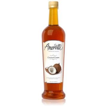 Amoretti Premium Syrup, Coconut Cream, 25.4 Ounce