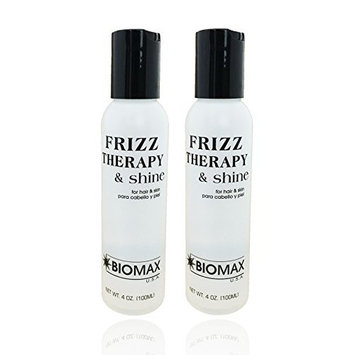 Biomax Frizz Therapy & Shine 4.0 oz (pack of 2)
