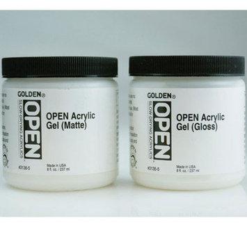 Golden - OPEN Acrylic Gel - Pint Jar - Gloss