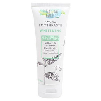 The Natural Family 232482 3.88 oz Rivermint Fluoride-Free Toothpaste Whitening